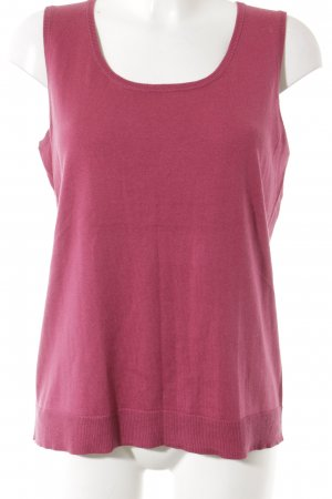 Peter Hahn Seidentop magenta Casual-Look