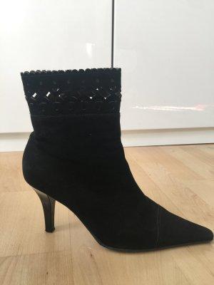 Peter Hahn Stiefelette , Damen 41 schwarz aus weichem Leder