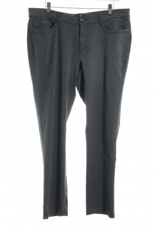 Peter Hahn Stoffhose grau Business-Look