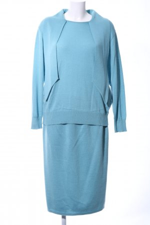 recognized brands exquisite design official supplier Peter Hahn Strick Twin Set blau Casual-Look