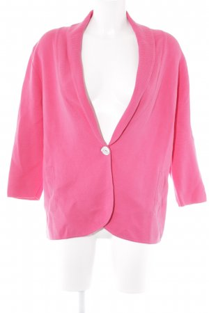 Peter Hahn Strickjacke magenta Casual-Look