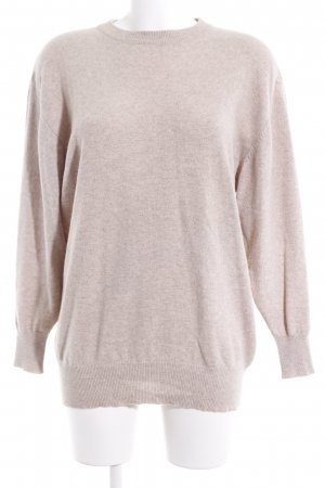 Peter Hahn Strickpullover beige Casual-Look
