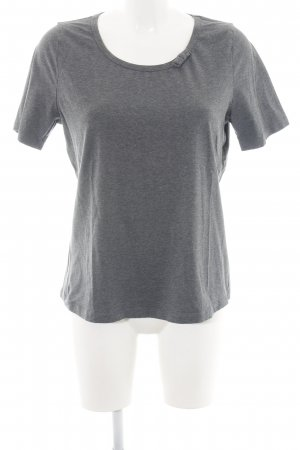 Peter Hahn T-Shirt hellgrau-silberfarben meliert Casual-Look