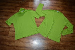 Peter Hahn Twin Set tipo suéter meadow green