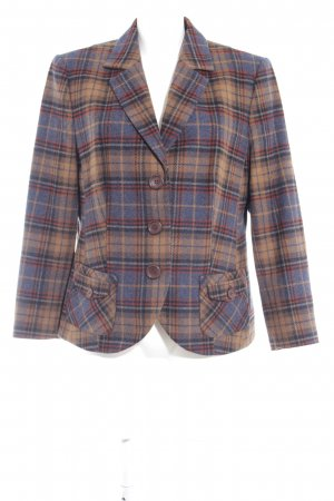 Peter Hahn Wool Blazer check pattern retro look