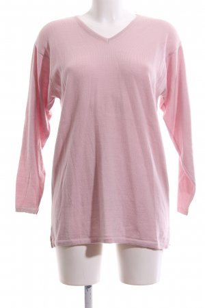 Peter Hahn Wollpullover pink Casual-Look