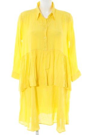 Peter Jensen Shirtwaist dress dark yellow vintage look
