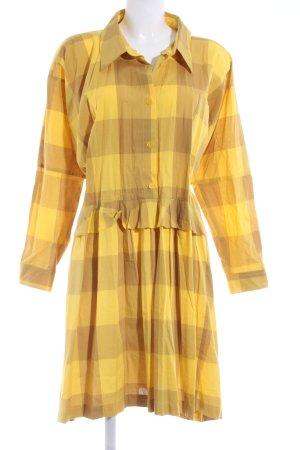 Peter Jensen Robe chemise motif à carreaux style décontracté
