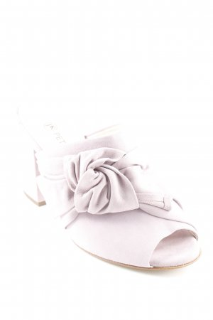 Peter Kaiser Heel Pantolettes mauve romantic style
