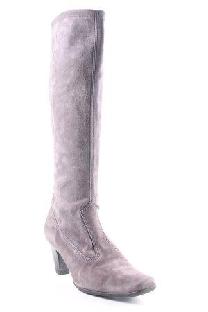 Peter Kaiser Absatz Stiefel grau-schwarz Casual-Look