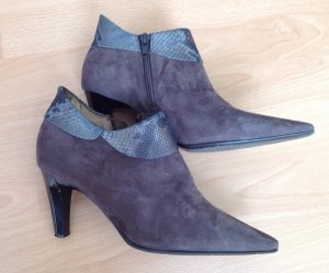 Peter Kaiser Ankle Boots Wildleder grau/ taupe Gr.36