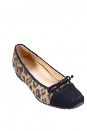 Peter Kaiser Ballerinas black-beige leopard pattern animal print