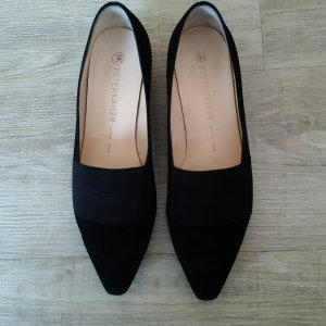 Peter Kaiser Betzi Slipper || Schwarzes Wildleder || Pumps Ballerinas Loafers