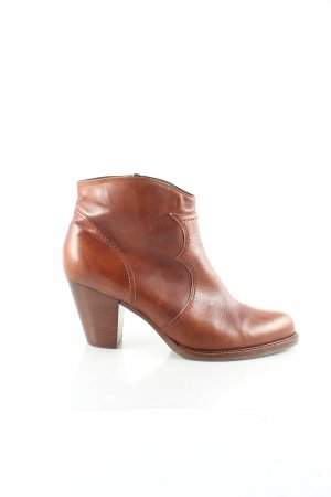 Peter Kaiser Booties cognac Boho-Look