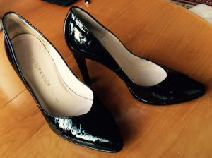 PETER KAISER Echtleder Lack Pumps, High Heels Gr.39