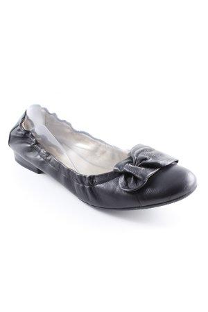 Peter Kaiser faltbare Ballerinas schwarz Casual-Look
