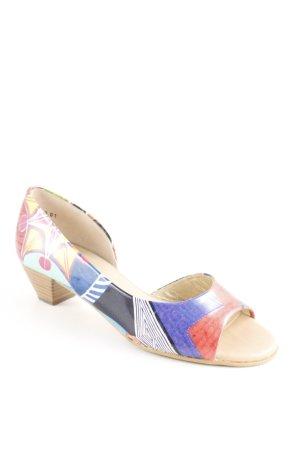 Peter Kaiser High Heel Sandaletten abstraktes Muster Casual-Look