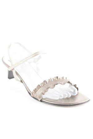 Peter Kaiser High Heel Sandaletten bronzefarben Casual-Look