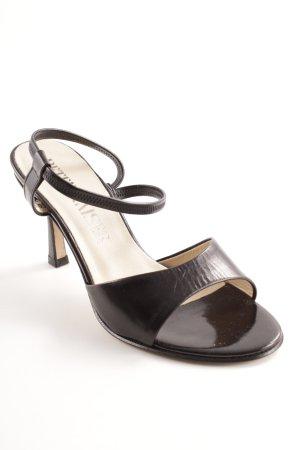 Peter Kaiser High Heel Sandal black-cream elegant