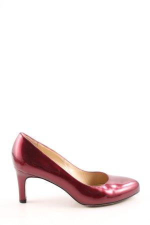 Peter Kaiser High Heels rot Elegant