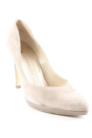 Peter Kaiser High Heels beige Elegant