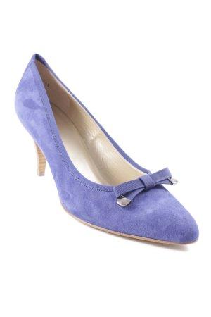 Peter Kaiser High Heels blau klassischer Stil