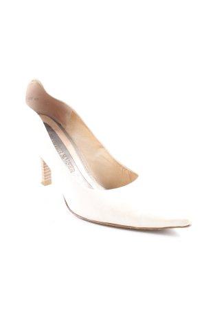 Peter Kaiser High Heels creme Elegant