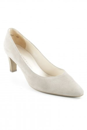 Peter Kaiser High Heels creme-hellgrau Casual-Look