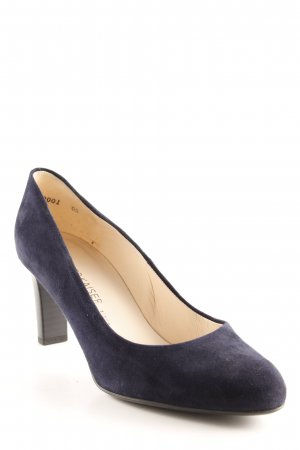 Peter Kaiser High Heels dunkelblau Business-Look