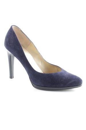 Peter Kaiser High Heels dunkelblau Casual-Look