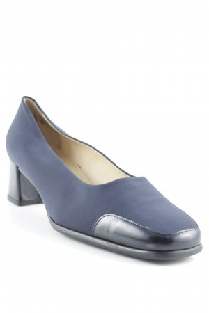 Peter Kaiser High Heels schwarz-dunkelblau klassischer Stil