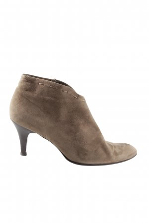 Peter Kaiser High-Front Pumps brown business style
