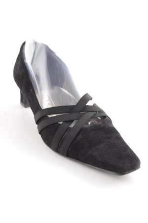 Peter Kaiser High-Front Pumps black business style