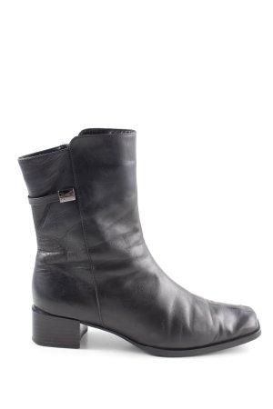 Peter Kaiser Korte laarzen zwart casual uitstraling
