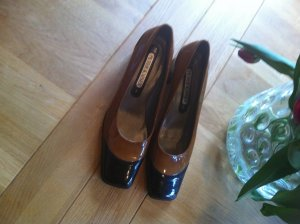 Peter Kaiser Loafers black-brown leather