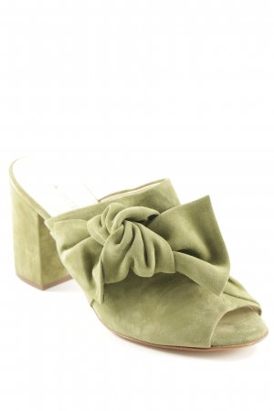 Peter Kaiser Peeptoe Pumps grasgrün Casual-Look