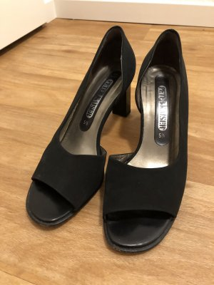 sale retailer 16db8 14472 Peter Kaiser Peep Toe Pumps black