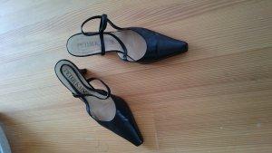 Peter Kaiser High Heel Sandal black leather