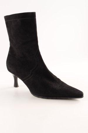 Peter Kaiser Reißverschluss-Stiefeletten schwarz Elegant