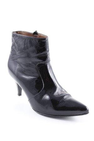 Peter Kaiser Reißverschluss-Stiefeletten schwarz extravaganter Stil