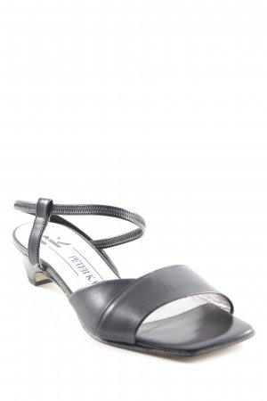 Peter Kaiser Riemchen-Sandalen schwarz Elegant