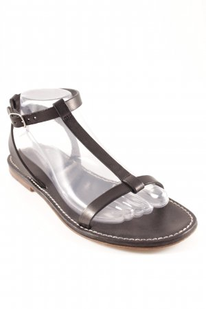 Peter Kaiser Strapped Sandals black classic style
