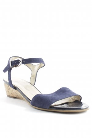 Peter Kaiser Strapped High-Heeled Sandals dark blue casual look