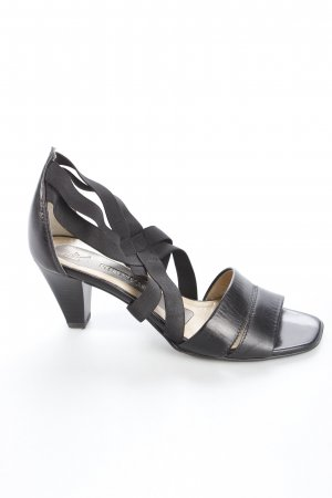 Peter Kaiser Strapped High-Heeled Sandals black casual look
