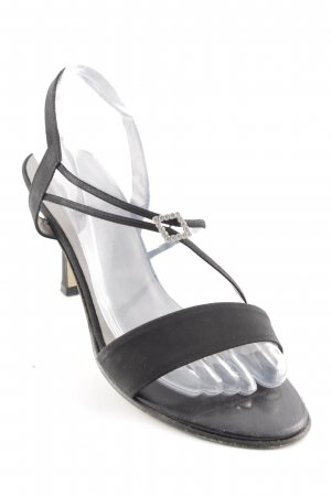 Peter Kaiser Strapped High-Heeled Sandals black party style