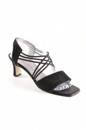 Peter Kaiser Strapped High-Heeled Sandals black simple style
