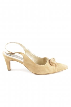 Peter Kaiser Strapped pumps nude-cream elegant