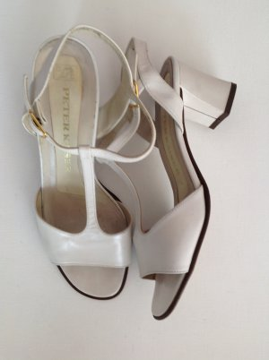 Peter Kaiser Outdoor Sandals white leather