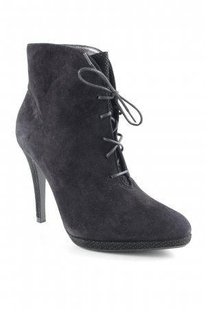 Peter Kaiser Lace-up Booties black casual look