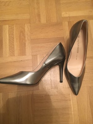 Peter Kaiser Silber Pumps